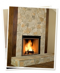 Renaissance Rumford Woodburning Fireplace