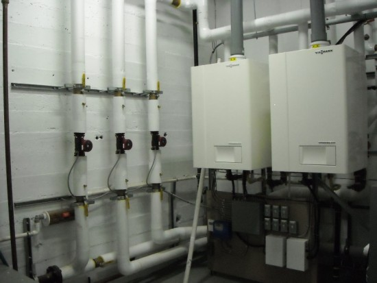 Viessmann Vitodens 200 Boiler North Central Plumbing