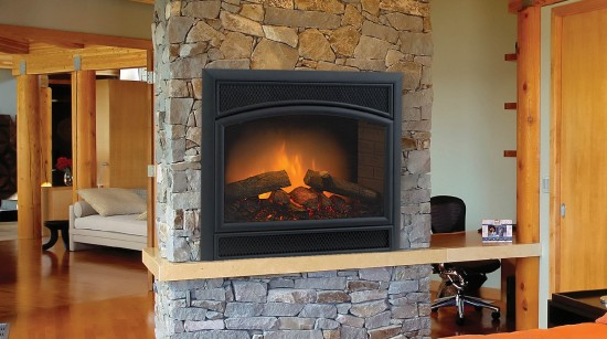 Majestic Allura Fire Electric Fireplace North Central