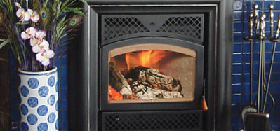Rsf Topaz Wood Fireplace North Central Plumbing