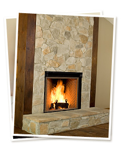 Renaissance Rumford Woodburning Fireplace North Central