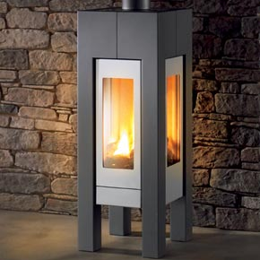 gas fireplace the santa fe freestanding gas fireplace from hearthstone