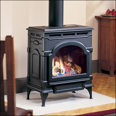 Majestic Oxford Cast Iron Gas Stove | North Central Plumbing ...